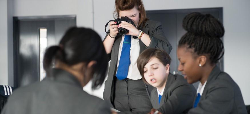 female UTC Sheffield students