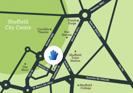 Where to find UTC Sheffield