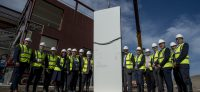 UTC Sheffield topping out 2
