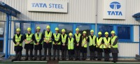 UTC students at Tata Steel