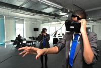 UTC students take part in the virtual reality prosthetics design project.